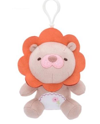metoo lion plush clip on toy