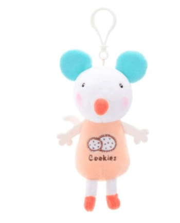 Metoo Mouse Clip On Toy - cot and pram hanging toys